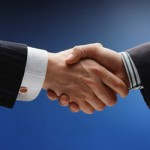 Business Agreement by handshake